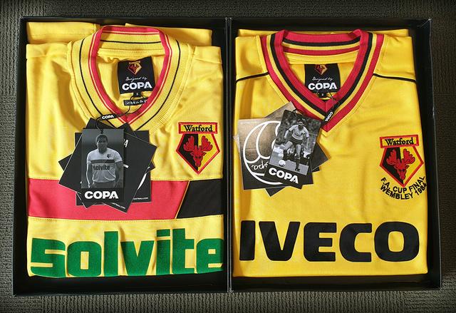 Watford retro jerseys | Rizal Farok