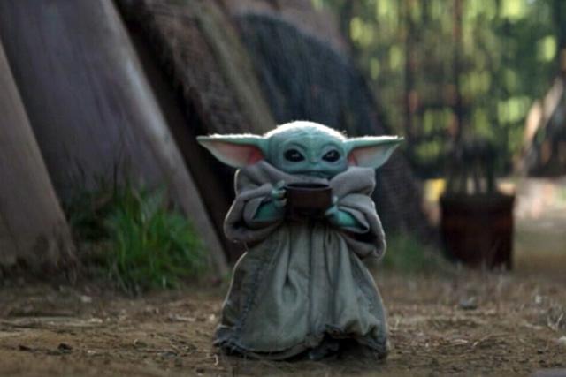 Baby Yoda soup scene | Rizal Farok
