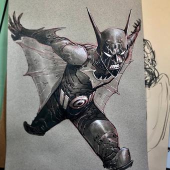 Batman Beyond Eric Canete | Rizal Farok