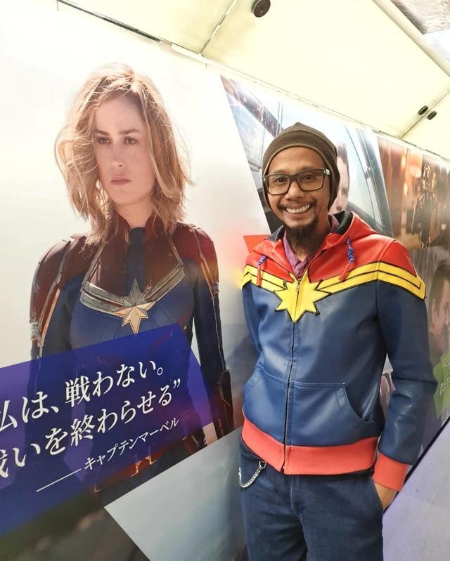 Captain Marvel Japanese poster | Rizal Farok