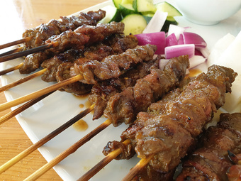 Satay Christmas lunch | Rizal Farok