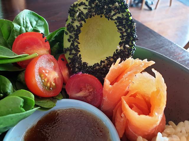 Salmon Poke Bowl   Rizal Farok