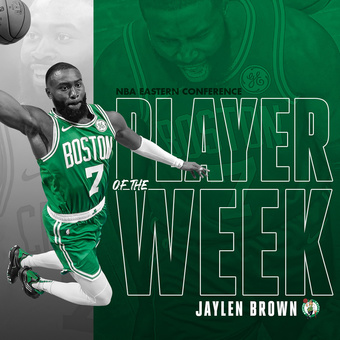 Jaylen Brown POW | Rizal Farok