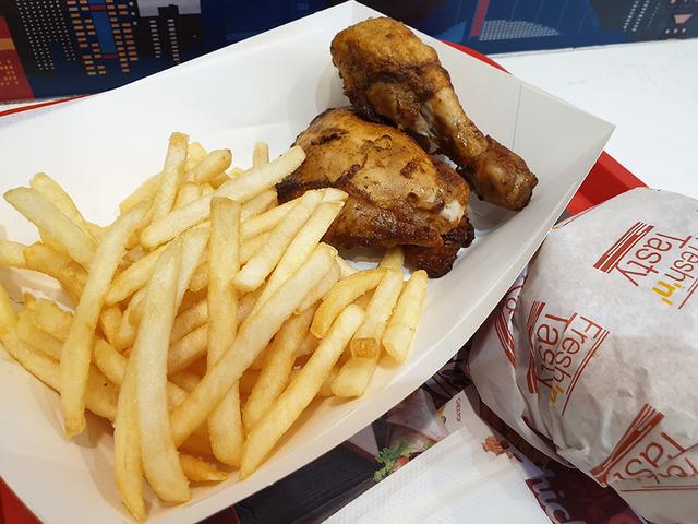 ChicKing Delite Burger meal | Rizal Farok