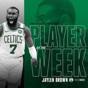 Jaylen Brown East POW again | Rizal Farok
