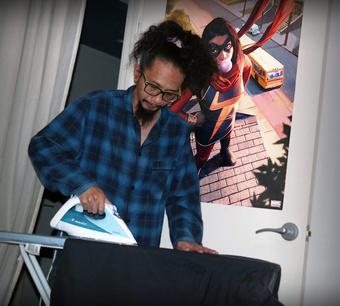 Kamala Khan and Iron Man? | Rizal Farok