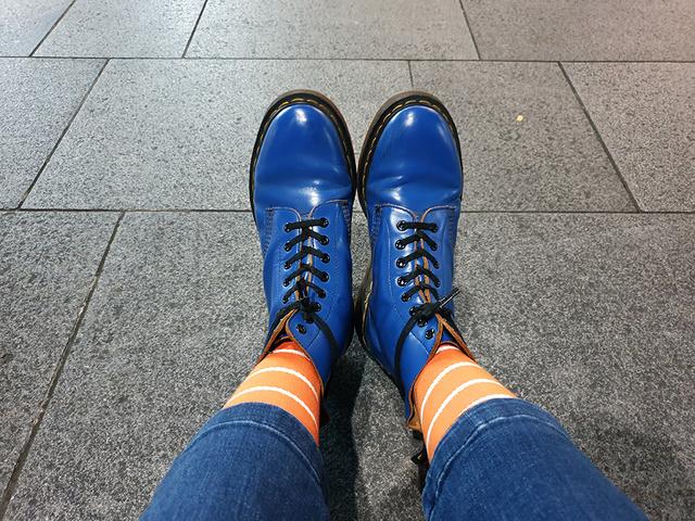 Dr Martens Goku socks | Rizal Farok