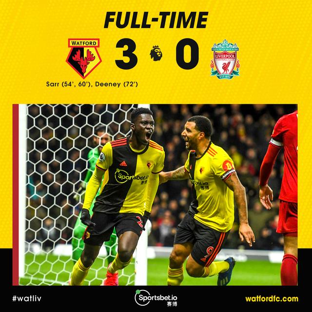Watford 3, Liverpool 0 | Rizal Farok
