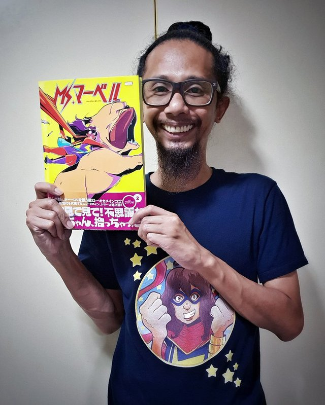 Ms Marvel Japanese Vol 2 | Rizal Farok
