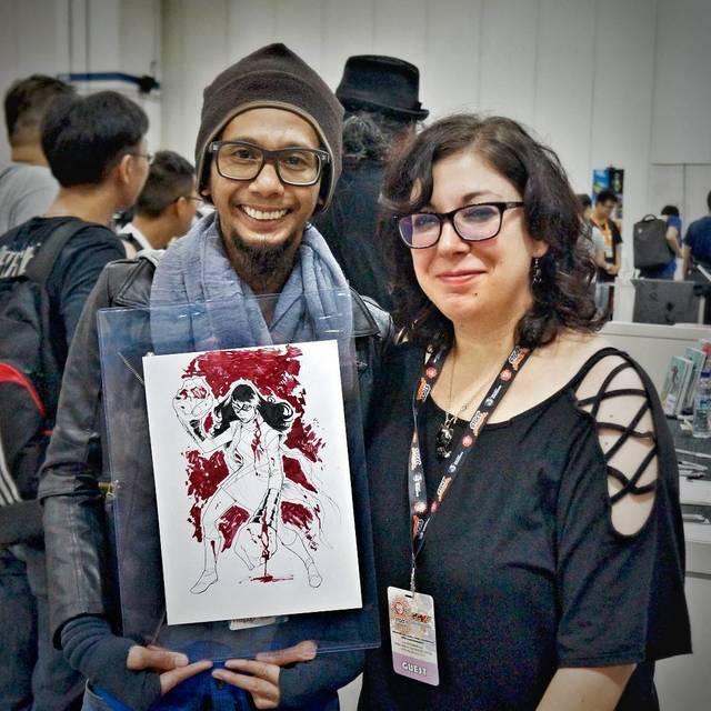 Mirka Andolfo Ms Marvel Kamala Khan | Rizal Farok