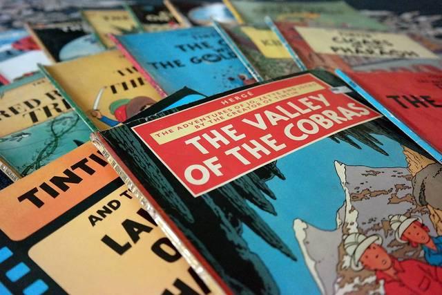 Tintin comics | Rizal Farok