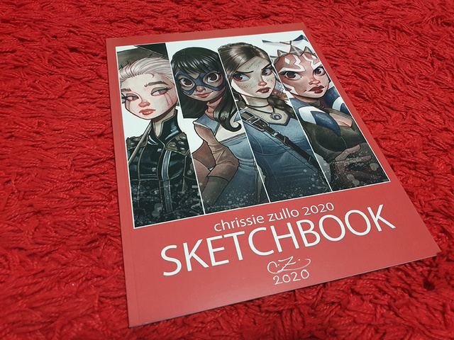 Chrissie Zullo sketchbook | Rizal Farok
