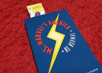 Ms Marvel bookmark | Rizal Farok