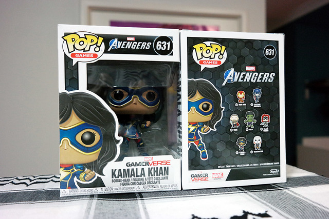 Ms Marvel Kamala Khan Pop | Rizal Farok