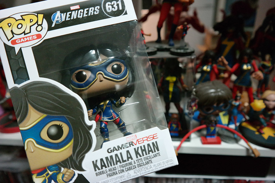 Ms Marvel Kamala Khan Gamerverse Pop | Rizal Farok