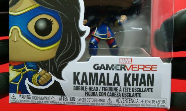 unboxing Kamala Khan Gamerverse pop | Rizal Farok
