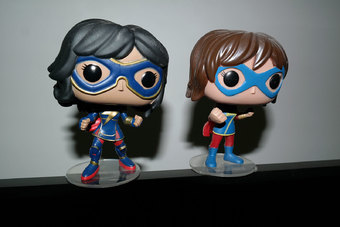 Kamala Khan new pop displayed | Rizal Farok