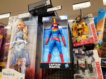 Captain Marvel in Woolies | Rizal Farok
