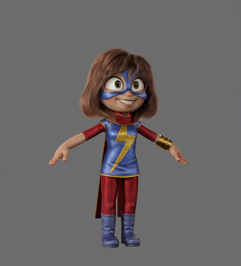 Ms Marvel by Victor Hugo | Rizal Farok