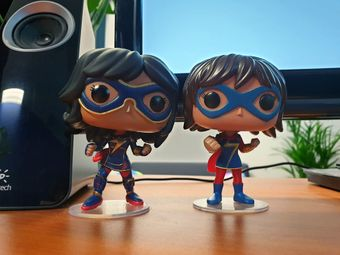 Ms Marvel Kamala Khan pops | Rizal Farok