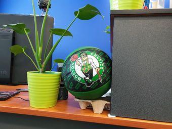 Boston Celtics ball | Rizal Farok