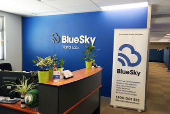 BlueSky internal signage   Rizal Farok