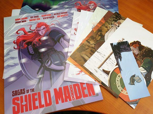 Sagas of the Shield Maiden   Rizal Farok