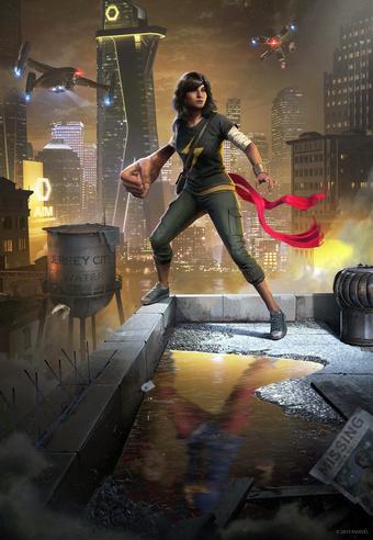 Ms Marvel in Square Enix Avengers! | Rizal Farok