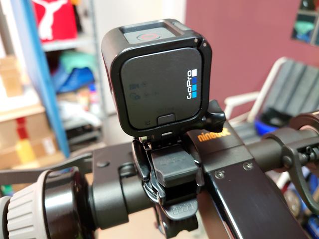 GoPro on my Ninebot Max   Rizal Farok