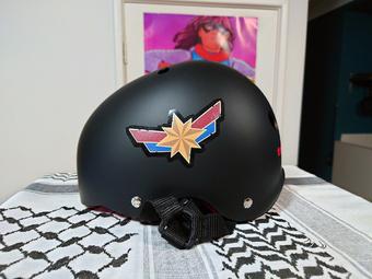 helmet now even more Marvel-ous | Rizal Farok