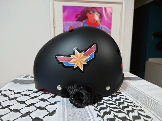 helmet now even more Marvel-ous   Rizal Farok