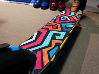 Ninebot Max deck grip | Rizal Farok