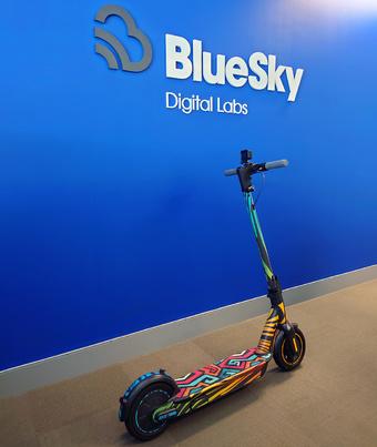 BlueSky Ninebot Max | Rizal Farok