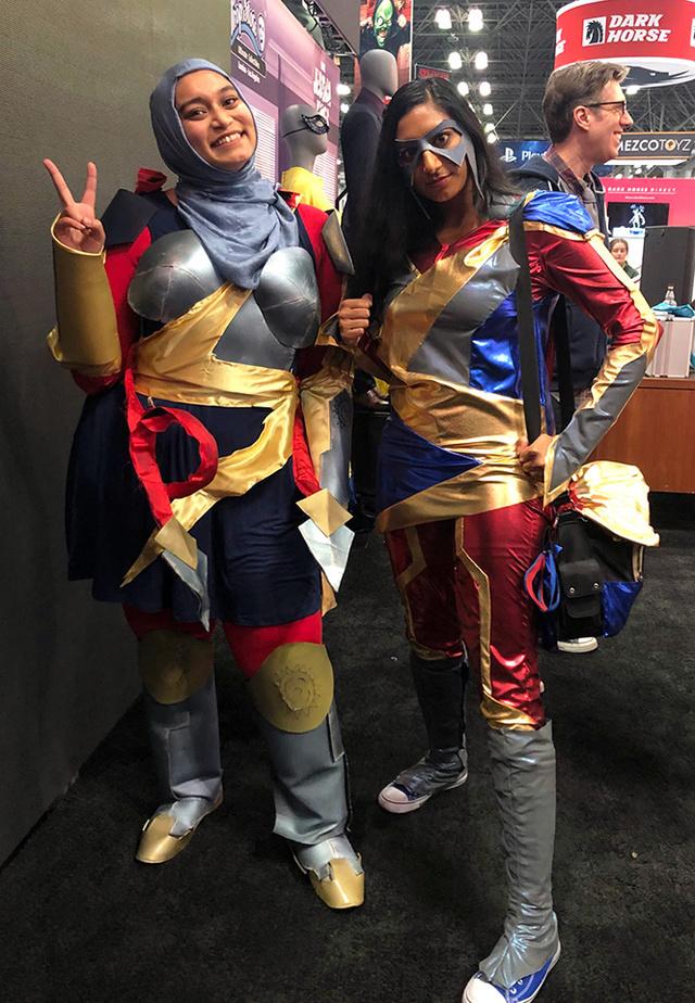 Ms Marvel new costume cosplay! | Rizal Farok