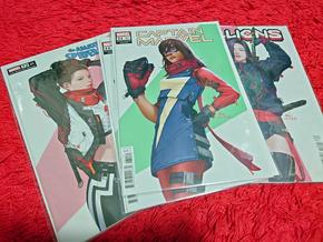 Ms Marvel variant cover | Rizal Farok