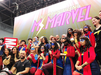 Magnificent Ms Marvel Kamala Khan | Rizal Farok