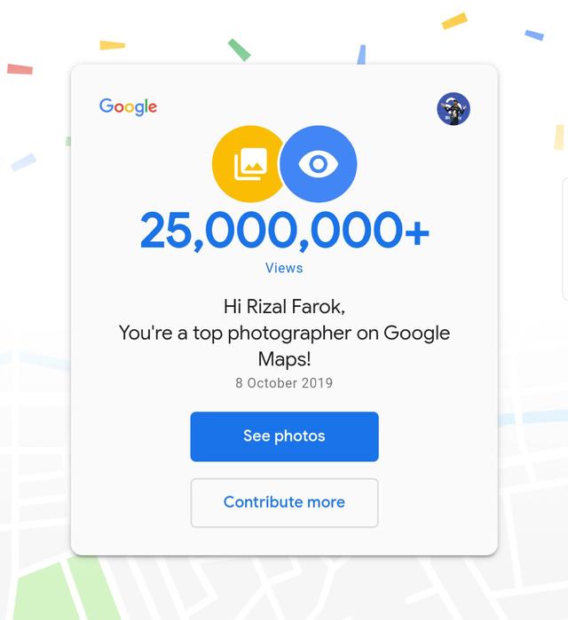 Google Maps top photographer | Rizal Farok