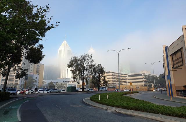 Terrigen Mist over Perth City | Rizal Farok