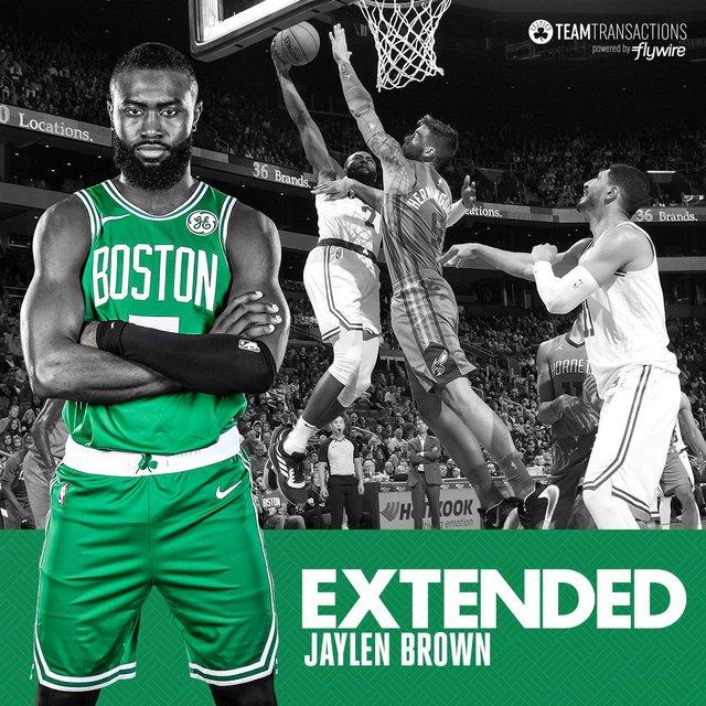 Jaylen Brown extended | Rizal Farok