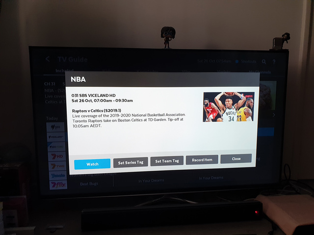 NBA on SBS | Rizal Farok