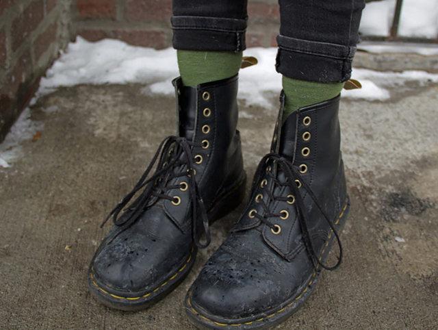 Docs are not winter boots | Rizal Farok