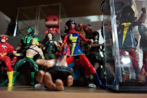 Ms Marvel Kamala Khan customs