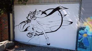 Batgirl Street Art