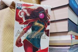 Ms Marvel Kamala Khan covers