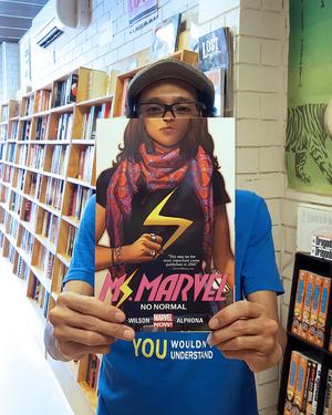 I Am Ms Marvel Kamala Khan