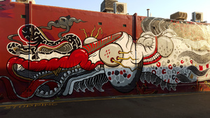 Street Art, East Vic Park, 2015